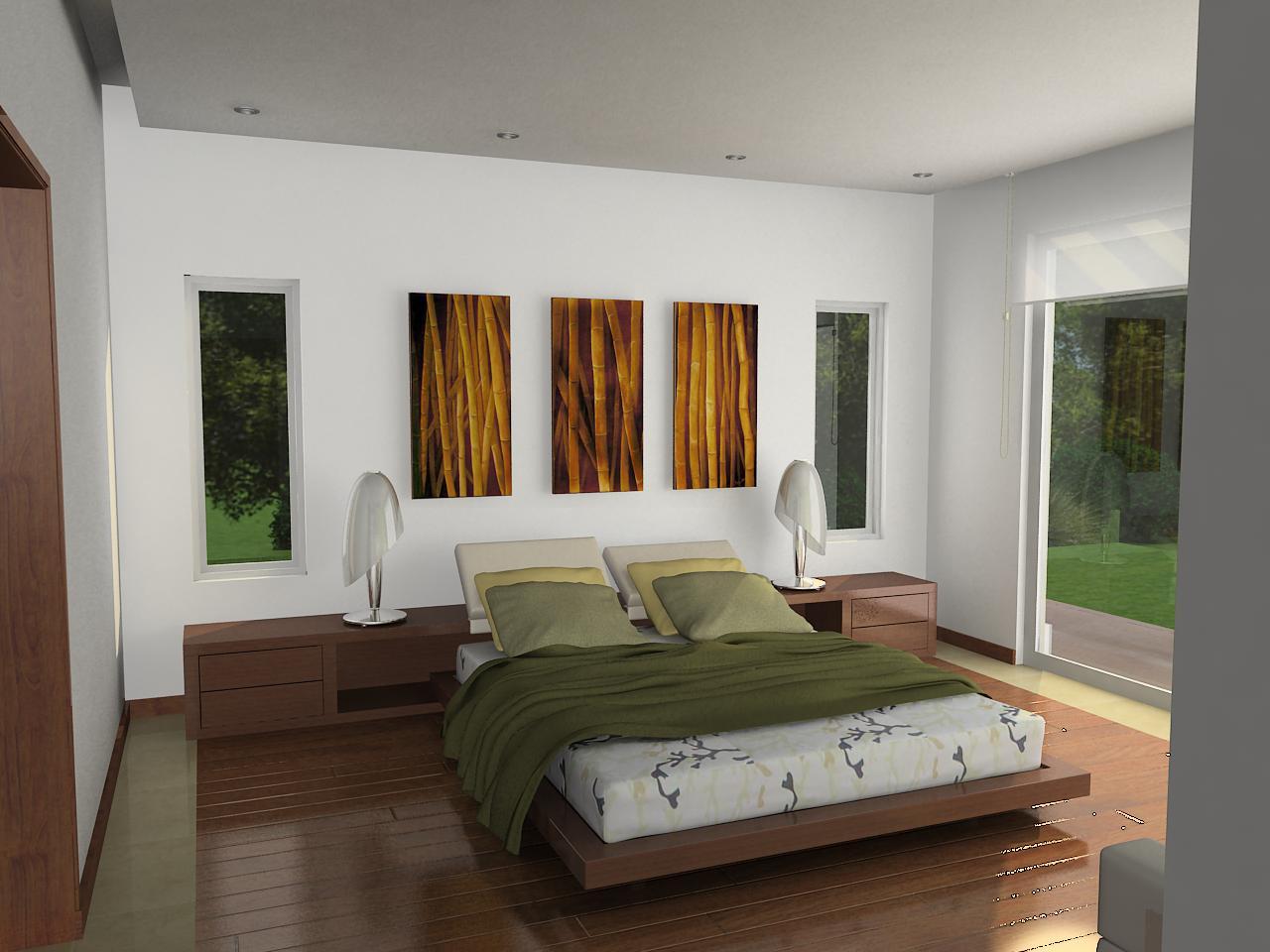 Dormitorio de dise o japones casa dise o for Diseno de interiores facultades